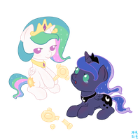 Give a rattle to her sister by mrs1989