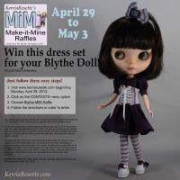 Free Raffle for This Blythe Dress Set by KerriaRosette
