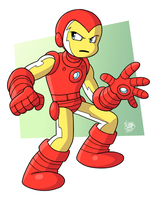 Iron Man by BezerroBizarro