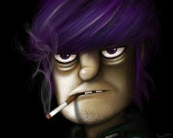 Murdock of Gorillaz by LezReyes