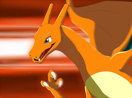 Charizard - Attack! by IcelectricSpyro
