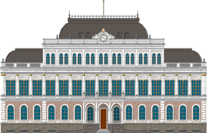 Kazan City Hall by Herbertrocha