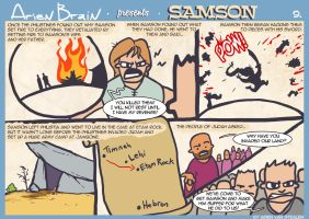 arien brain: samson page9 by therealarien