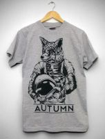 Spacebound Fox Tee by jphil