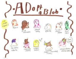Adopt a blob 2 by anonymousinvader24
