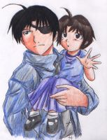 FMA: Roy and lil May by Nishi06