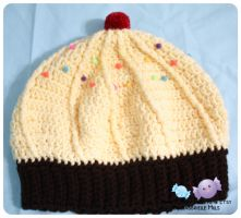 Yellow Cupcake Hat 3 by moofestgirl