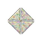 Mother of Pearl Star by Gariandos
