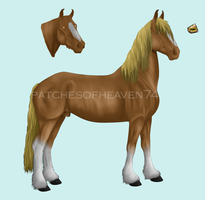 Audax-stud 2 SOLD by patchesofheaven74