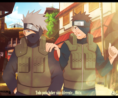 Kakashi y Obito una realidad alternativa by EMIxxiiSAN