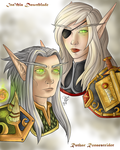 Ruthar and Ina'thia by Darisper