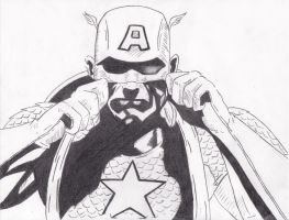 Captain American by Emrah007