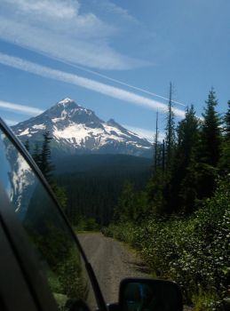 Mt. Hood and Reflection by co1dpaws