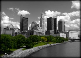 Columbus, Ohio by AudraMBlackburnsArt