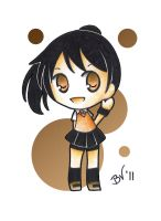 DoN chibi Akane by BlueValkyrie