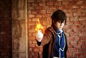 Roy Mustang: The Flame Alchemist by Lishrayder