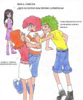 phineas y ferb- version anime by firerirock