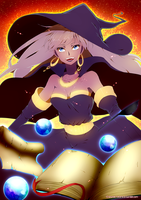 The Golden Witch by Erumi-n