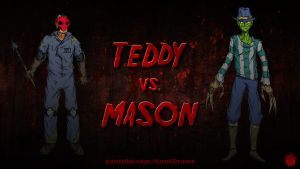 Teddy VS. Mason by AnutDraws