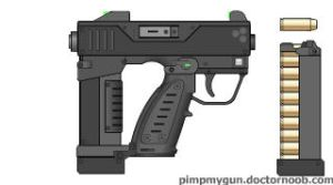 M54 Heavy Pistol by dronner66