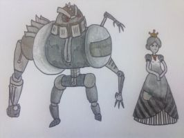 Robot Royalty by Ask-Edwin