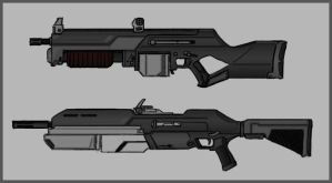 Assault Weapon Set 01 by Kr0zBoNE