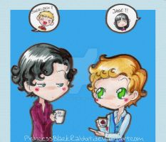 Sherlock 'n Jane by PrincessBlackRabbit