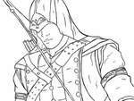 Connor Kenway/Ratonhake:ton gift (Lineart) by YAOI--LUVR
