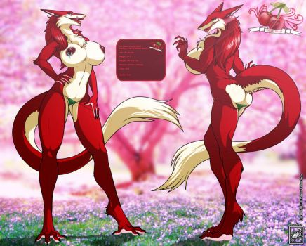 OC Sergal Cherry Vellet_completed by wsache007