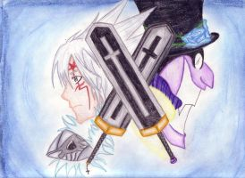 Swords of good and evil by x3KHloverx3