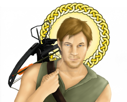 Saint Daryl by lexophile42