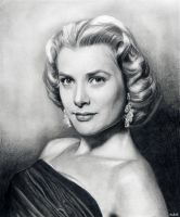 Grace Kelly by MLS-art