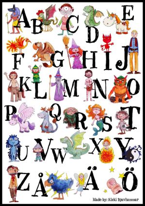 Kickis Mythological Alphabet