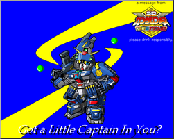Captain Mor..i mean Gundam by GundamCat