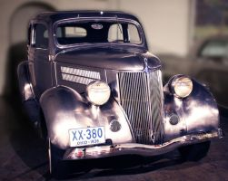 1936 Stainless Steel Ford Deluxe by MissModelT
