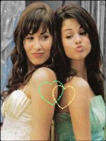 Demi Lovato And Selena Gomez by Sassyqueen123