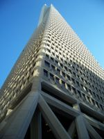 San Francisco Transamerica Pyramid by ChristinaVanWichelen