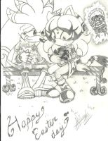 ~ Mini Contest ~ ::Silvaze - Happy Easter Day:: by ClassicMariposAzul