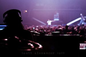 Portrait of a sound tech.. by straightfromcamera