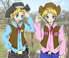 Cowboy Kids by synthelle