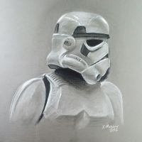 Storm trooper - Star Wars by stuponitron