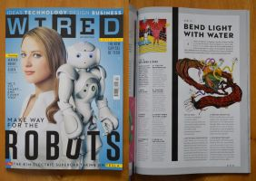 Wired Magazine. April 2013. by C-CLANCY