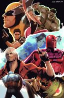 MvC3 competition entry by jaimito