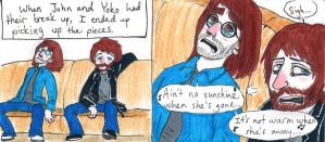 Ain't No Sunshine for Mr. Lennon by Strabius