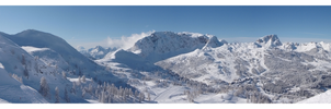 Alps 09 - Panorama 3 by Mis-kin