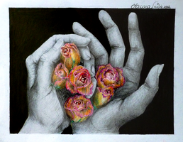 Life in my hands by bluethroat