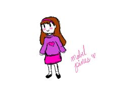 Mabel Pines (rough) by ninjabunny1213