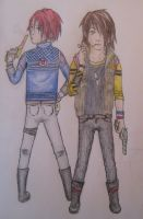 Fun Ghoul and Party Poison by iWillTakeYourJello
