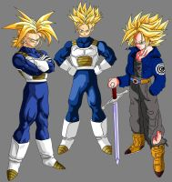 Team - Super Trunks by OriginalSuperSaiyan