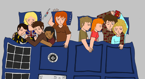 Doctor Who Sleepover by moniek-kuuper